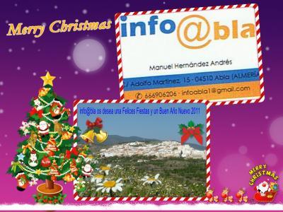FELICES FIESTAS Y UN BUEN AÑO NUEVO 2011