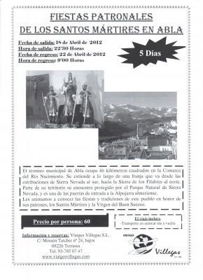 Desde Terrassa, preparadose para las Fiestas de Abril 2012