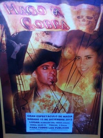 Actuación del Mago Cobra